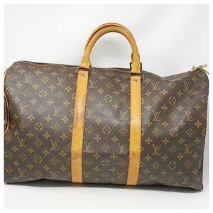 Authentic Louis Vuitton Monogram Travel 50